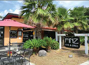 Finz Bar & Grill, W. Coleman Blvd in Mt Pleasant