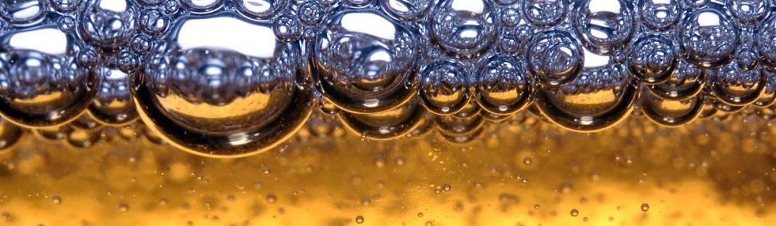 Beverage closeup