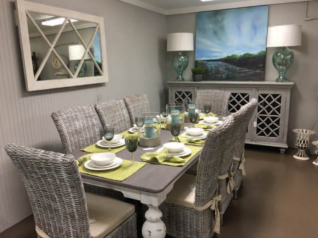 Furnishings at Southern Accent Designers Showcase