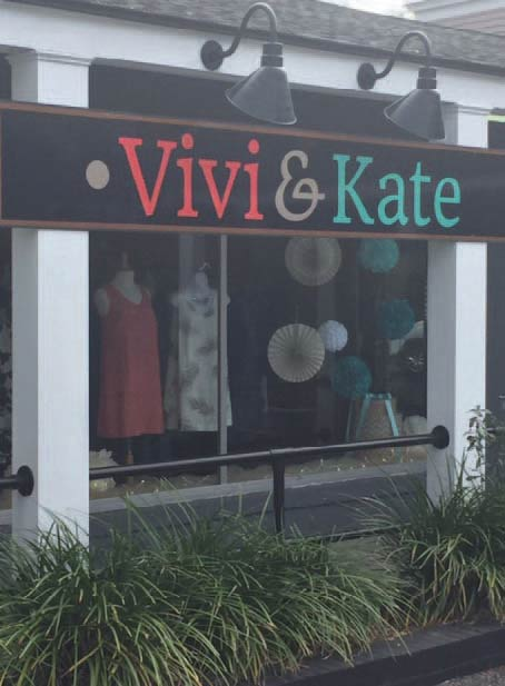 Photo of the Vivi & Kate store on Hibben Street in Mount Pleasant