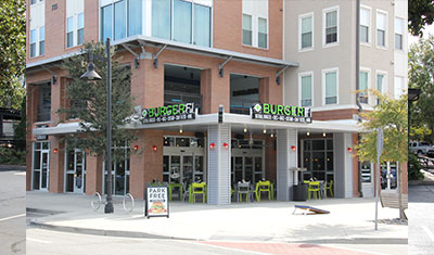 Burgerfi Coleman Boulevard restaurant