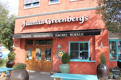 Juanita Greenberg's, Coleman Boulevard Restaurant